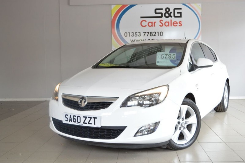 used Vauxhall Astra SRI CDTI 2.0 in ely-cambridgeshire