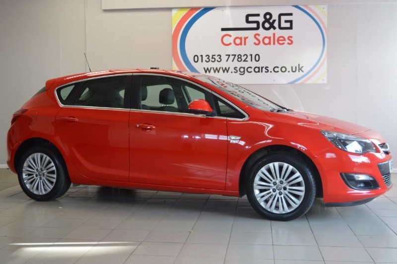 used Vauxhall Astra EXCITE in ely-cambridgeshire