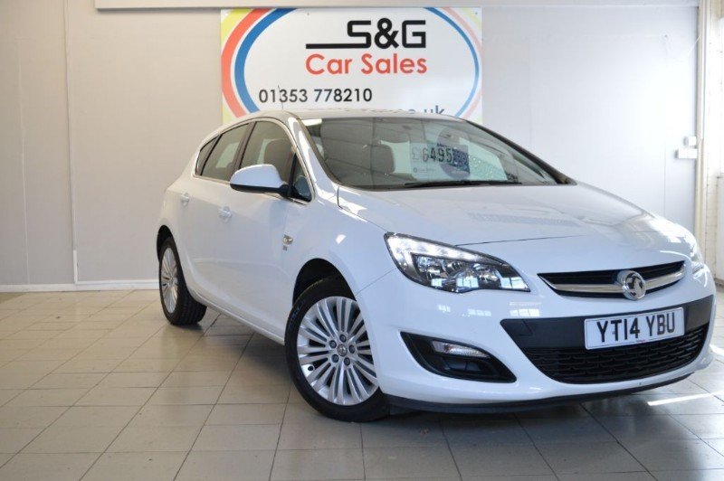 used Vauxhall Astra EXCITE 1.4vvti in ely-cambridgeshire