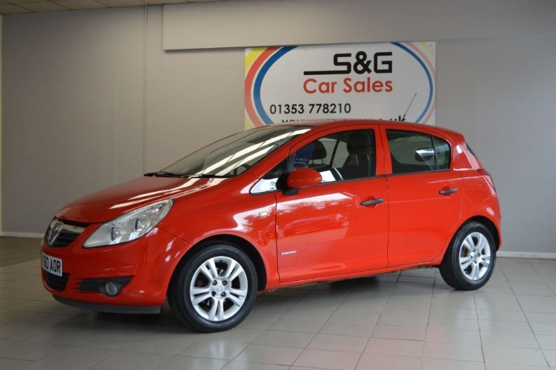 used Vauxhall Corsa ENERGY CDTI ECOFLEX in ely-cambridgeshire