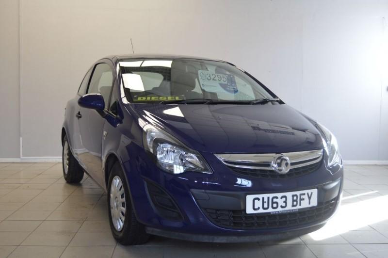 used Vauxhall Corsa S AC CDTI ECOFLEX in ely-cambridgeshire