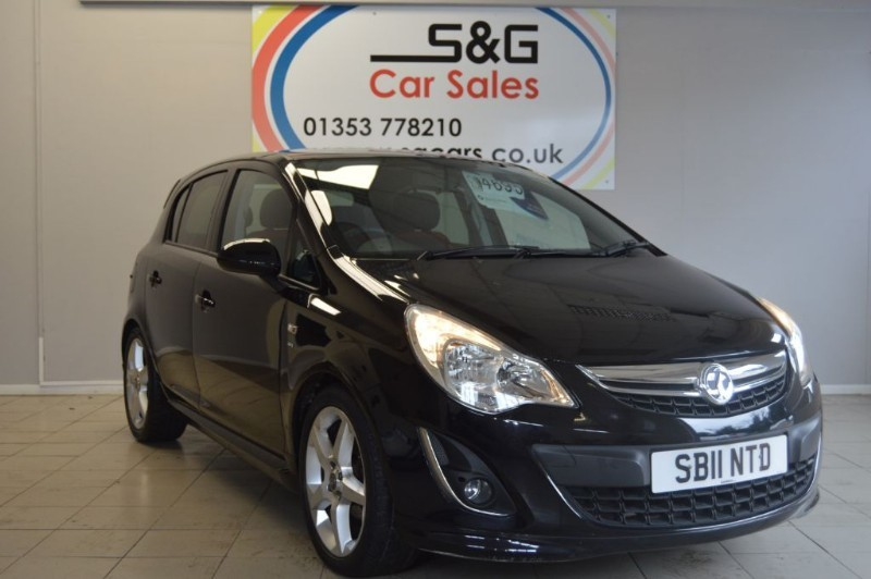 used Vauxhall Corsa SRI 1.4 16v in ely-cambridgeshire