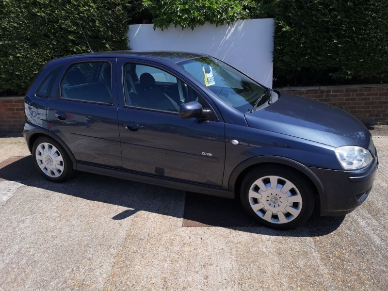 used Vauxhall Corsa DESIGN 16V TWINPORT in ely-cambridgeshire