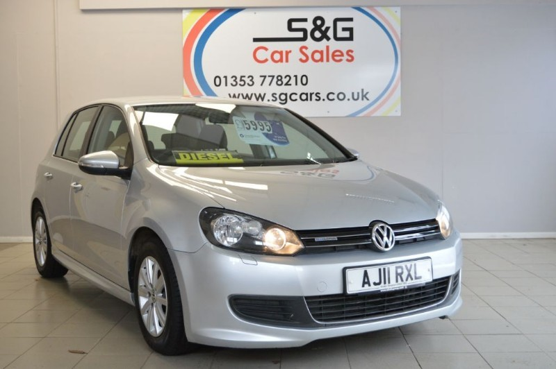used VW Golf S TDI BLUEMOTION in ely-cambridgeshire
