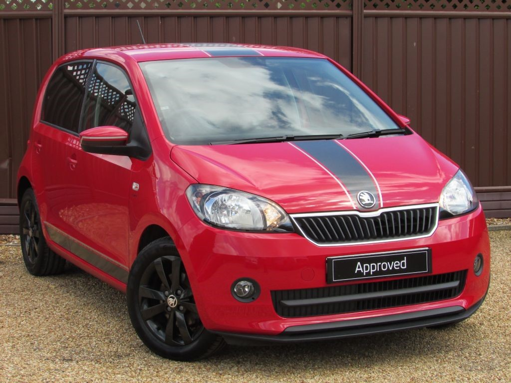 used tornado red skoda citigo for sale cambridgeshire. Black Bedroom Furniture Sets. Home Design Ideas