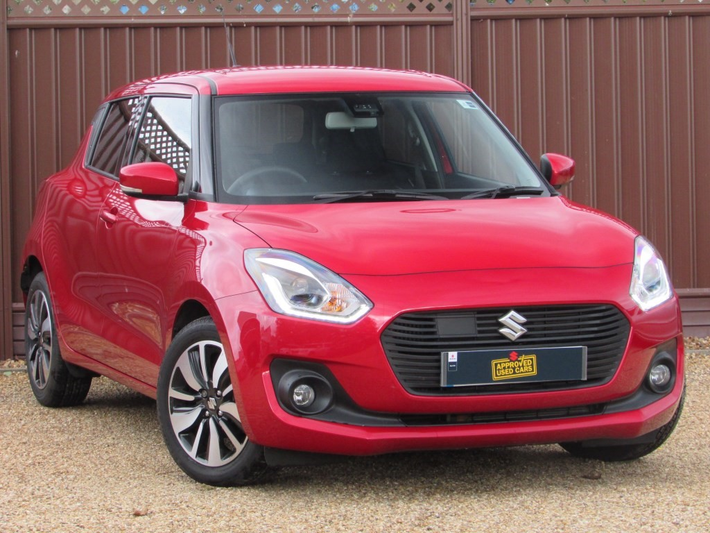 used burning red metallic suzuki swift for sale. Black Bedroom Furniture Sets. Home Design Ideas