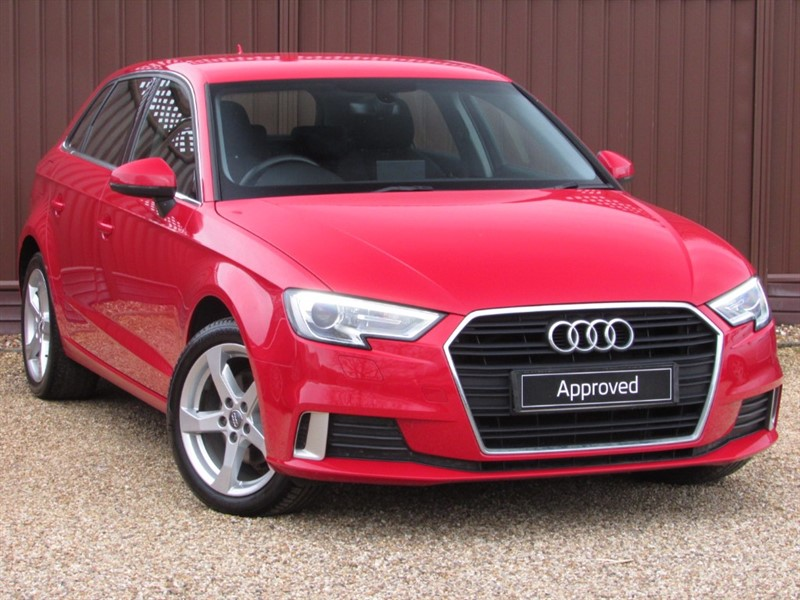 used Audi A3 SPORTBACK SPORT 1.4TFSI 150PS in ely-cambridgeshire