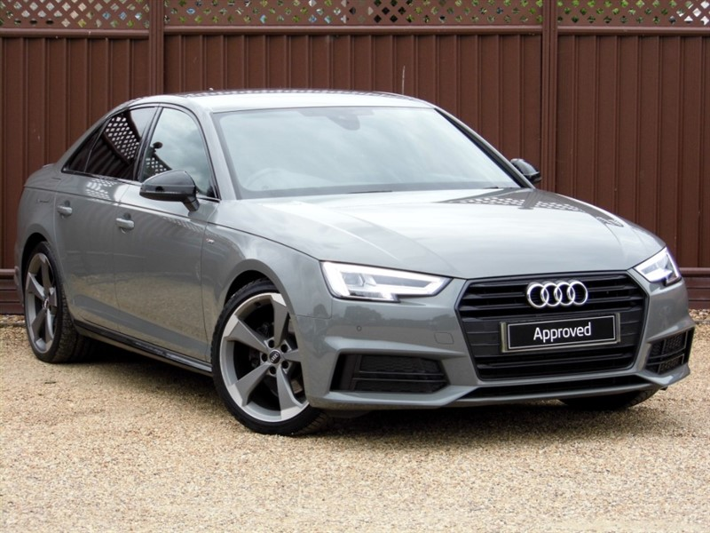 used Audi A4 1.4TFSI 150PS S LINE BLACK EDITION in ely-cambridgeshire