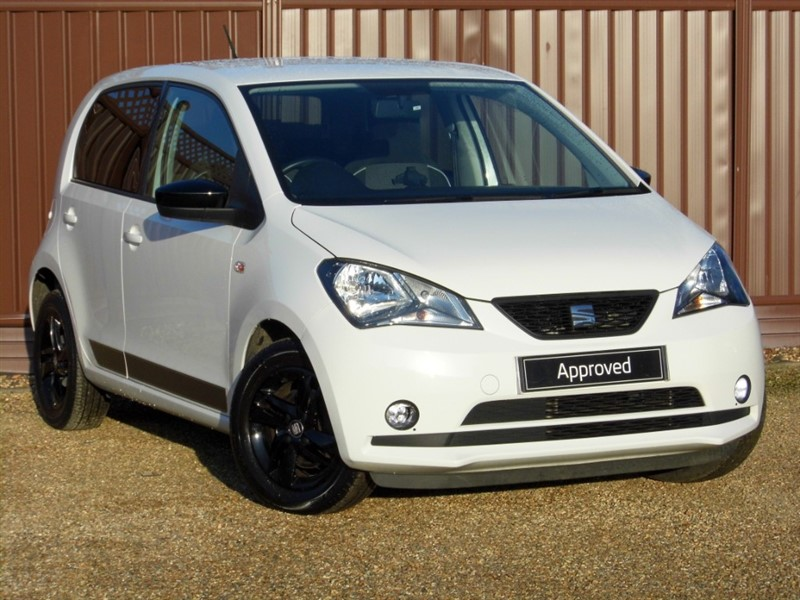 used SEAT Mii DESIGN 1.0 60PS 5 DOOR in ely-cambridgeshire