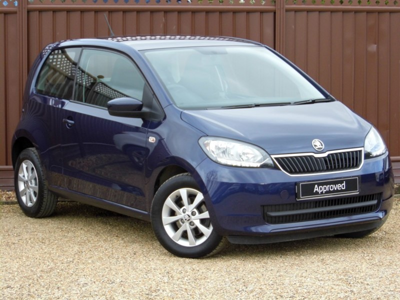 used Skoda Citigo SE 1.0MPI 60PS 3 DOOR in ely-cambridgeshire