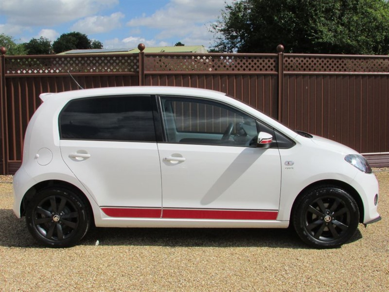 used candy white skoda citigo for sale cambridgeshire. Black Bedroom Furniture Sets. Home Design Ideas