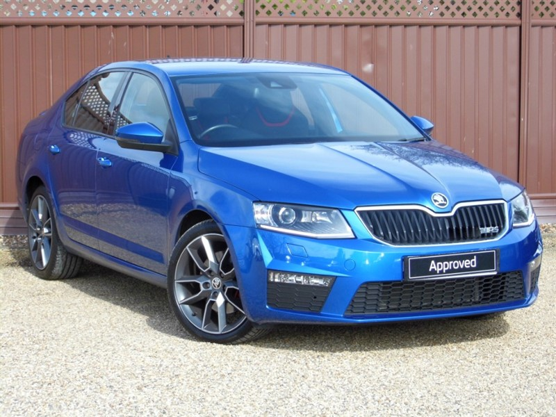 used Skoda Octavia VRS 2.0TDI 184PS in ely-cambridgeshire