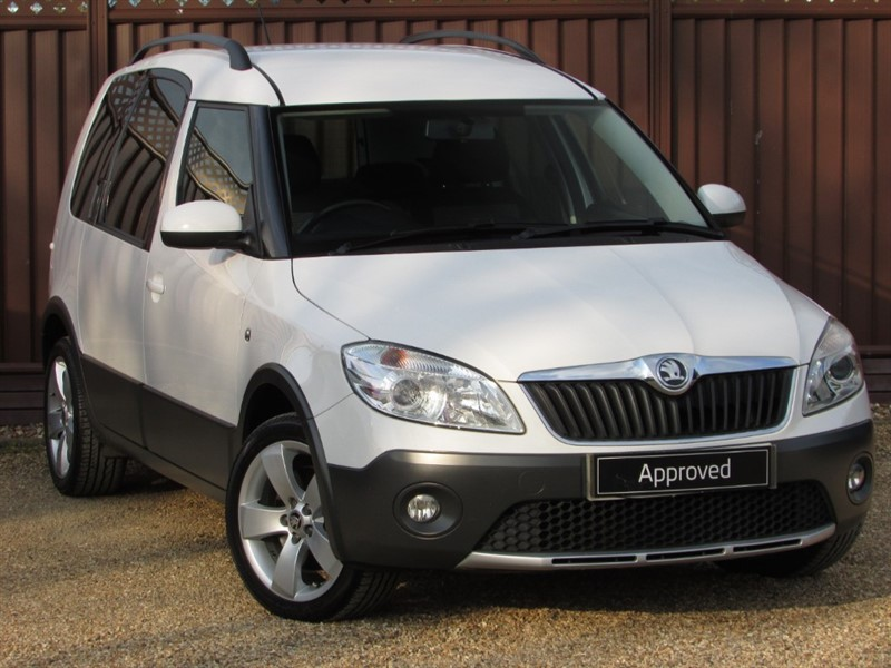 used Skoda Roomster SCOUT 1.6TDI CR 105PS in ely-cambridgeshire