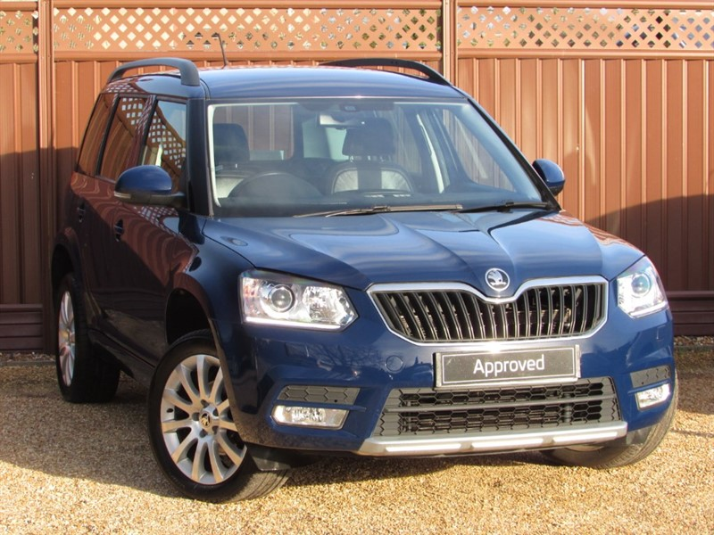 used Skoda Yeti SE L 2.0TDI SCR 110PS in ely-cambridgeshire
