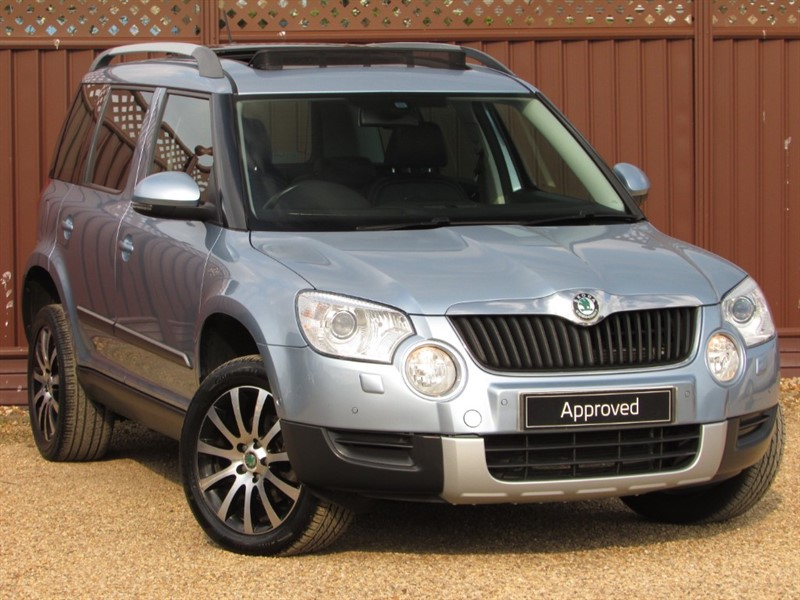 used Skoda Yeti LAURIN & KLEMENT 2.0TDI CR 140PS 4X4 DSG in ely-cambridgeshire