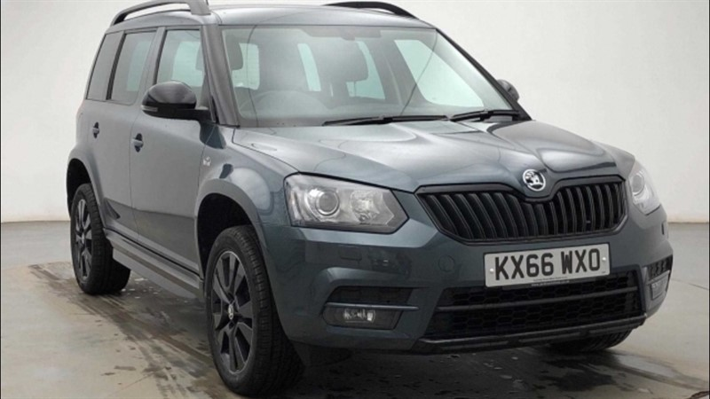 used Skoda Yeti MONTE CARLO 1.2TSI 110PS DSG in ely-cambridgeshire