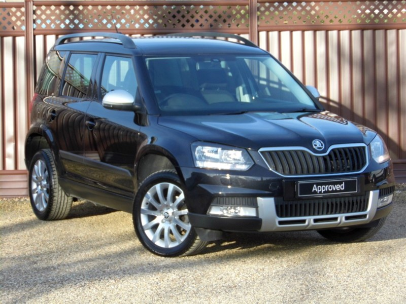 used Skoda Yeti OUTDOOR SE BUSINESS 2.0TDI SCR 110PS in ely-cambridgeshire