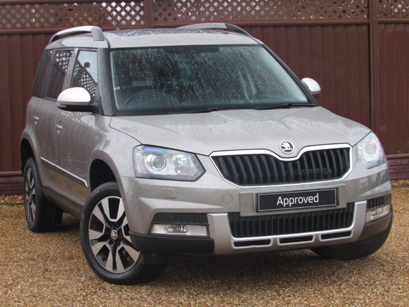 used Skoda Yeti OUTDOOR LAURIN & KLEMENT 2.0TDI CR 140PS DSG in ely-cambridgeshire