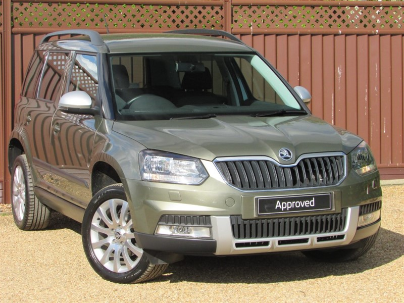 used Skoda Yeti OUTDOOR SE 1.2TSI 110PS DSG in ely-cambridgeshire