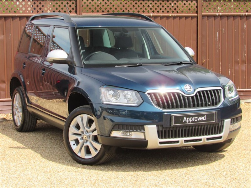 used Skoda Yeti OUTDOOR SE L 2.0TDI SCR 110PS in ely-cambridgeshire
