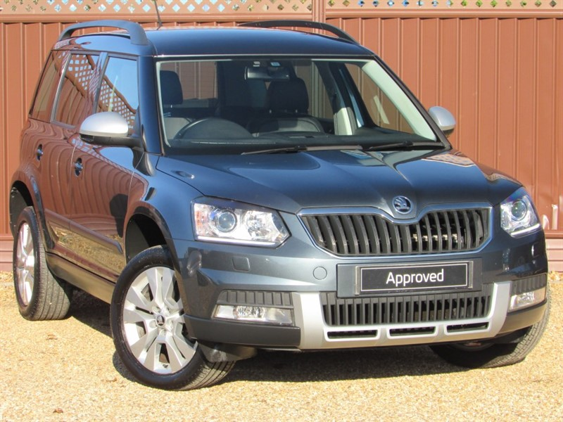 used Skoda Yeti OUTDOOR ELEGANCE 2.0TDI CR 140PS DSG in ely-cambridgeshire