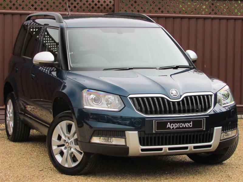 used Skoda Yeti OUTDOOR SE L 1.2TSI 110PS DSG in ely-cambridgeshire