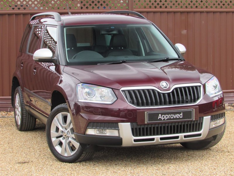 used Skoda Yeti OUTDOOR SE L 1.2TSI 110PS in ely-cambridgeshire