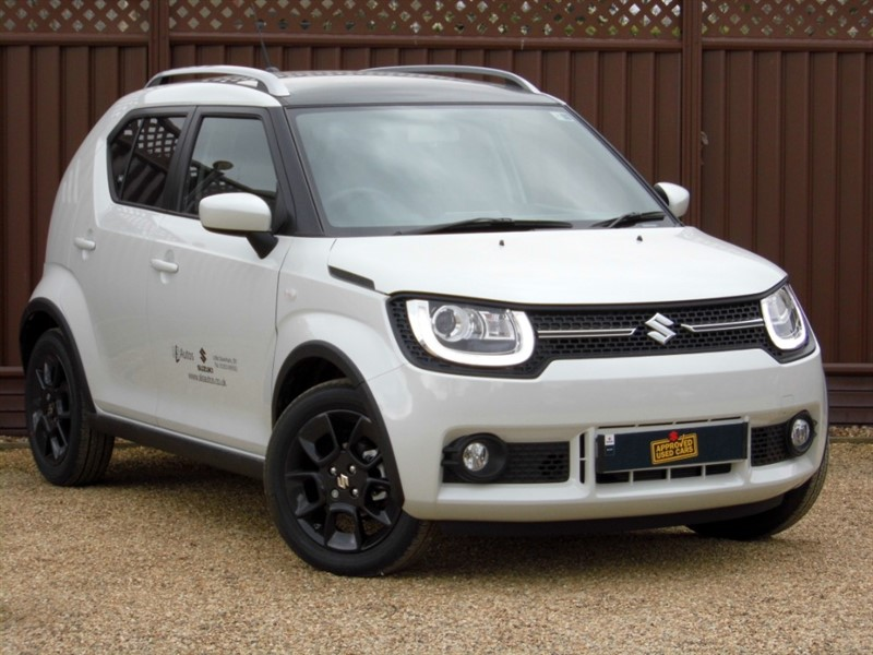 used Suzuki Ignis SZ-T 1.2 DUALJET SHVS 90PS in ely-cambridgeshire