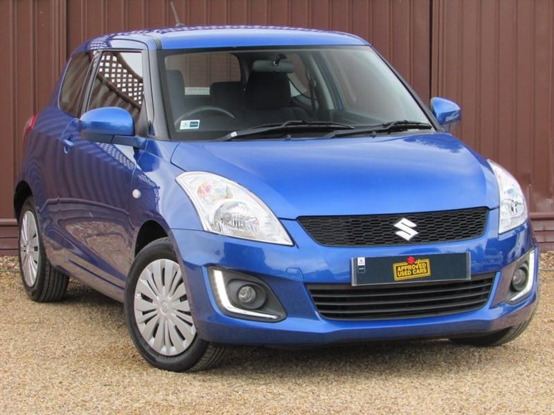 used Suzuki Swift SZ2 1.2 94PS 3 DOOR in ely-cambridgeshire