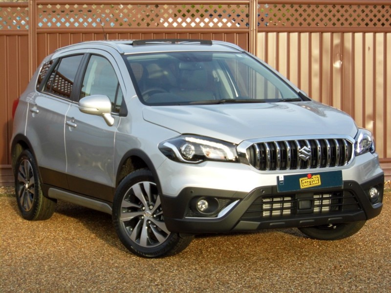 used Suzuki SX4 S-Cross SZ5 1.4 BOOSTERJET 140PS ALLGRIP in ely-cambridgeshire