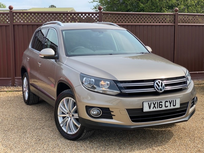used VW Tiguan MATCH EDITION 2.0TDI BMT 184PS 4MOTION DSG used cars in ely-cambridgeshire