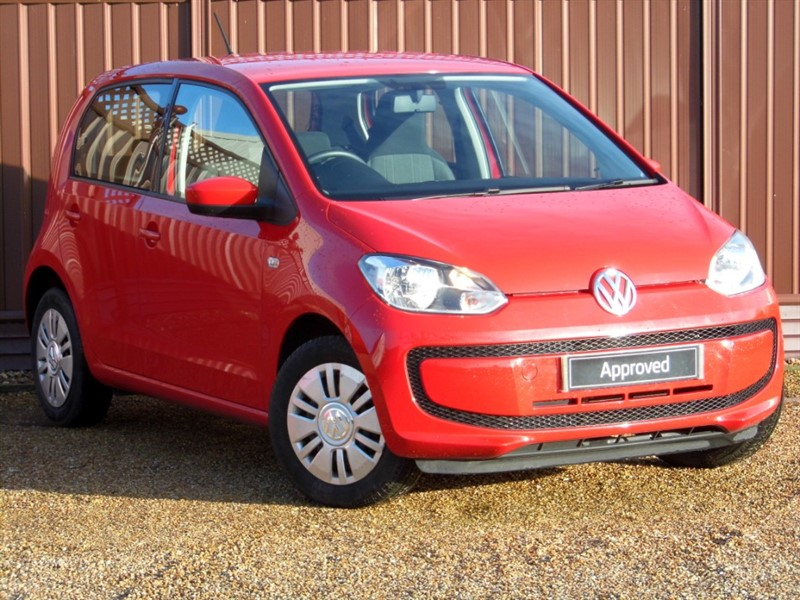 used VW Up MOVE UP 1.0 60PS 5 DOOR in ely-cambridgeshire