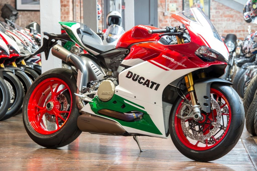 used tricolore ducati 1299 panigale for sale | south yorkshire