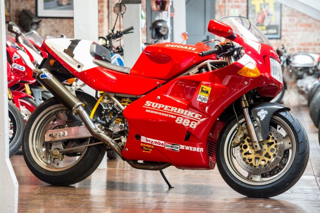 used red ducati 888 for sale   south yorkshire