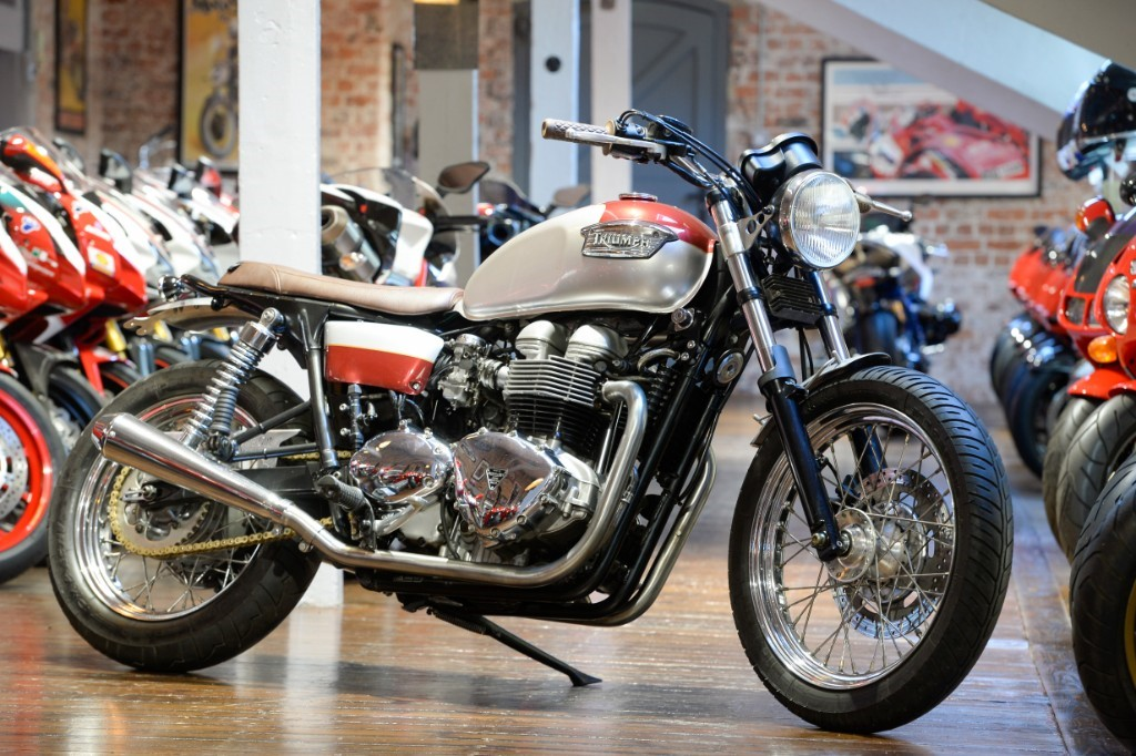 Triumph Bonneville 800 The Bike Specialists South Yorkshire