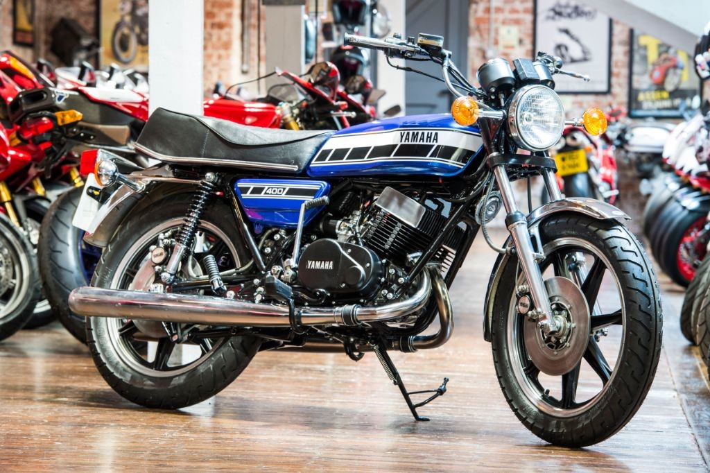Yamaha RD400 | The Bike Specialists | South Yorkshire