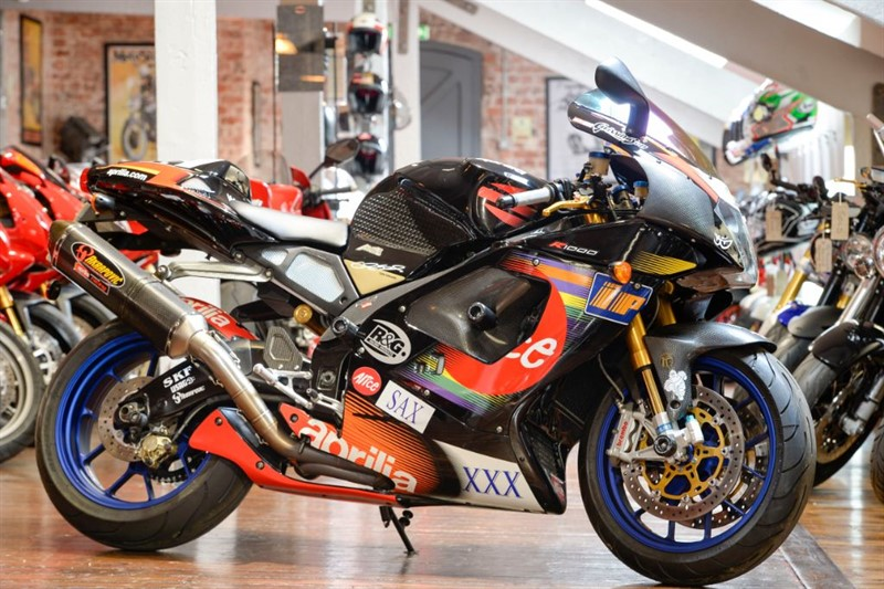 used Aprilia RSV MILLE 1000R COLIN EDWARDS REPLICA in sheffield-for-sale