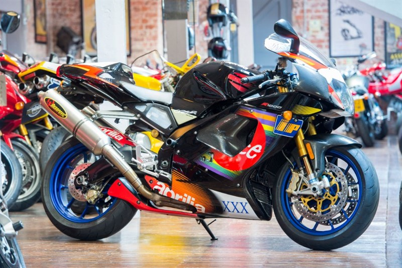 """used Aprilia RSV1000 MILLE R """"SIGNED"""" COLIN EDWARDS REPLIC in sheffield-for-sale"""