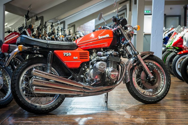 used Benelli  750/6 SIX CYLINDER MASTERPIECE in sheffield-for-sale