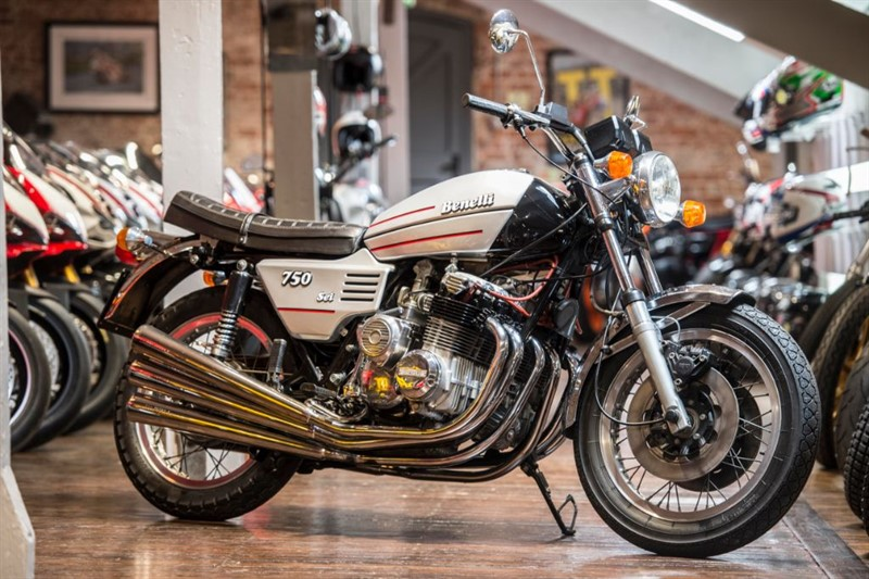 used Benelli  1976 750 Sei SIX-CYLINDER MASTERPIECE  in sheffield-for-sale