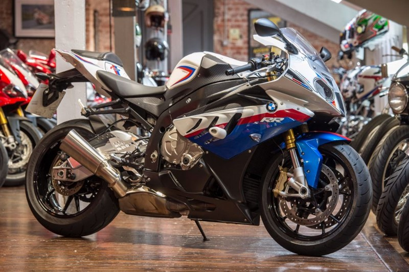 used BMW S1000RR ONE OWNER LOW MILEAGE EXAMPLE in sheffield-for-sale