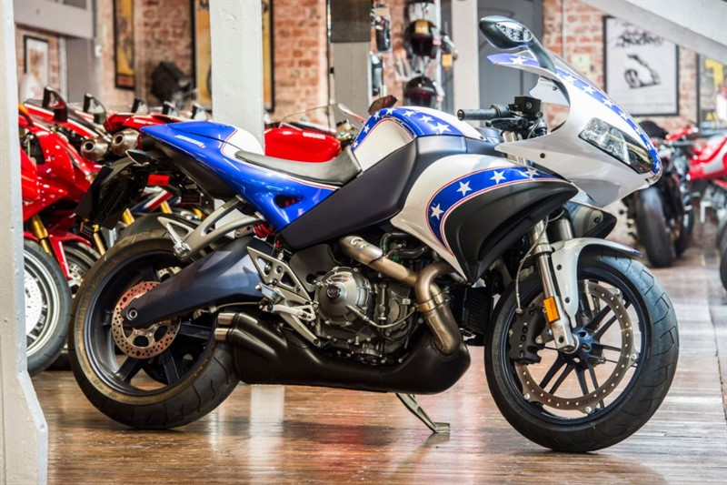 used Buell 1125R ANNIVERSARY SIGNATURE EDITION LOW MILES in sheffield-for-sale