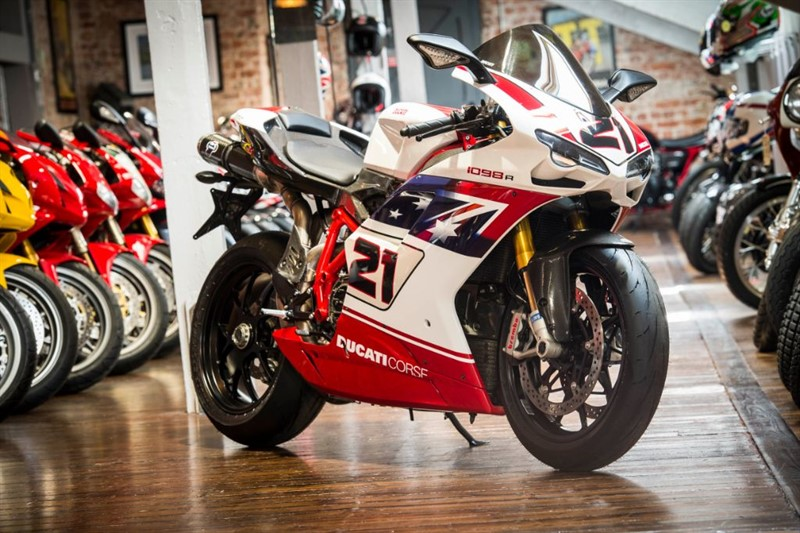 used Ducati 1098 R TROY BAYLISS REP Signed by Troy Bayliss in sheffield-for-sale