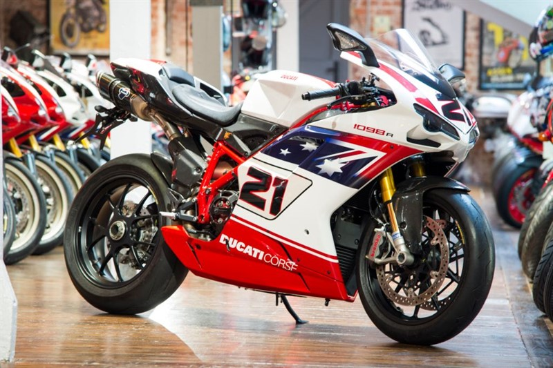 used Ducati 1098 R TROY BAYLISS NO 104 of 500 ONLY 246 MILES in sheffield-for-sale