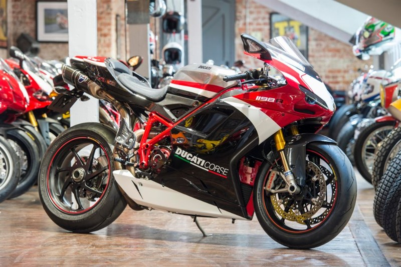 used Ducati 1198 R CORSE RARE INVESTMENT OPPORTUNITY in sheffield-for-sale