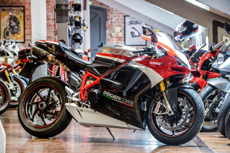 used Ducati 1198 S CORSE SPECIAL EDITION  in sheffield-for-sale