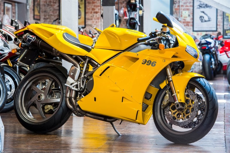 used Ducati 996 BIPOSTO SUPERB EXAMPLE ONLY 3,765 MILES in sheffield-for-sale