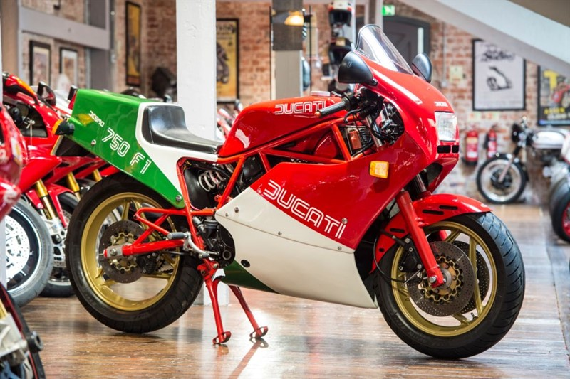 used Ducati 750 F1 LOW MILEAGE UK EXAMPLE in sheffield-for-sale