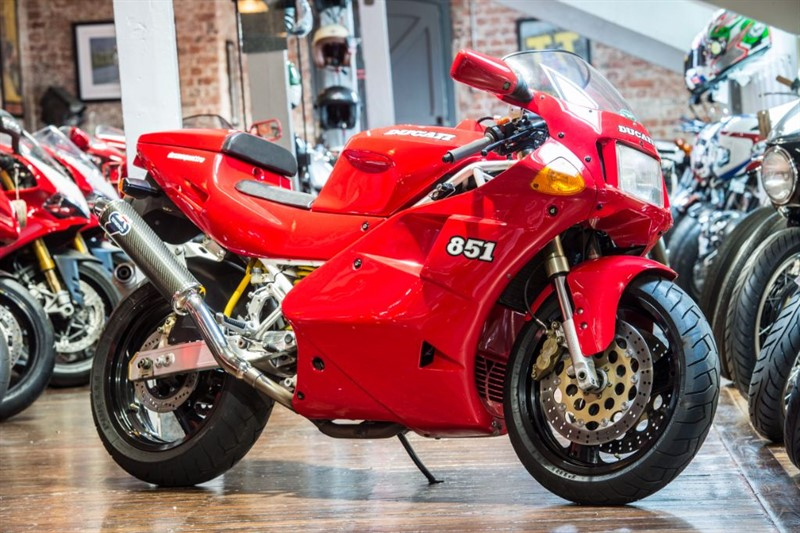 used Ducati 851 Desmodromic Excellent Example  in sheffield-for-sale