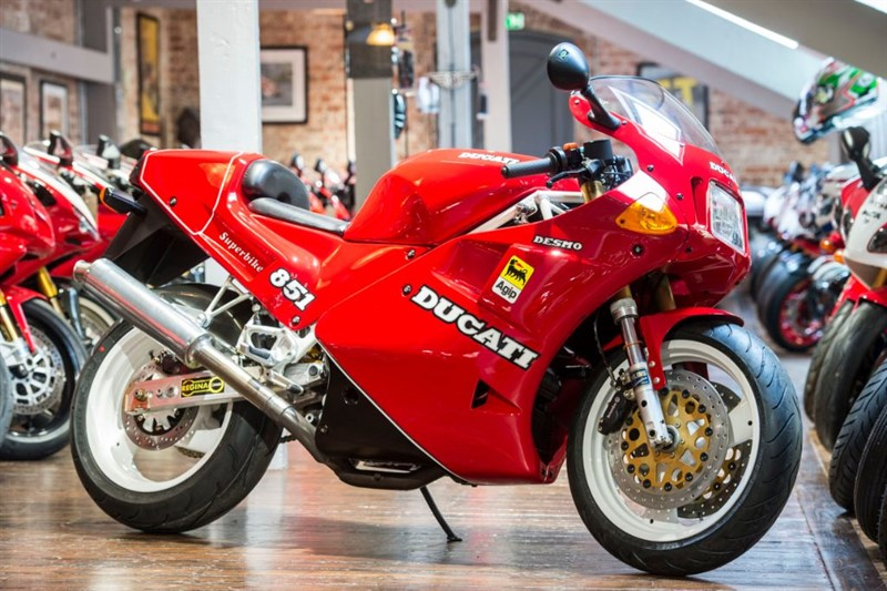 used Ducati 851 SP2 STUNNING CONDITION No: 125 LTD EDITION in sheffield-for-sale